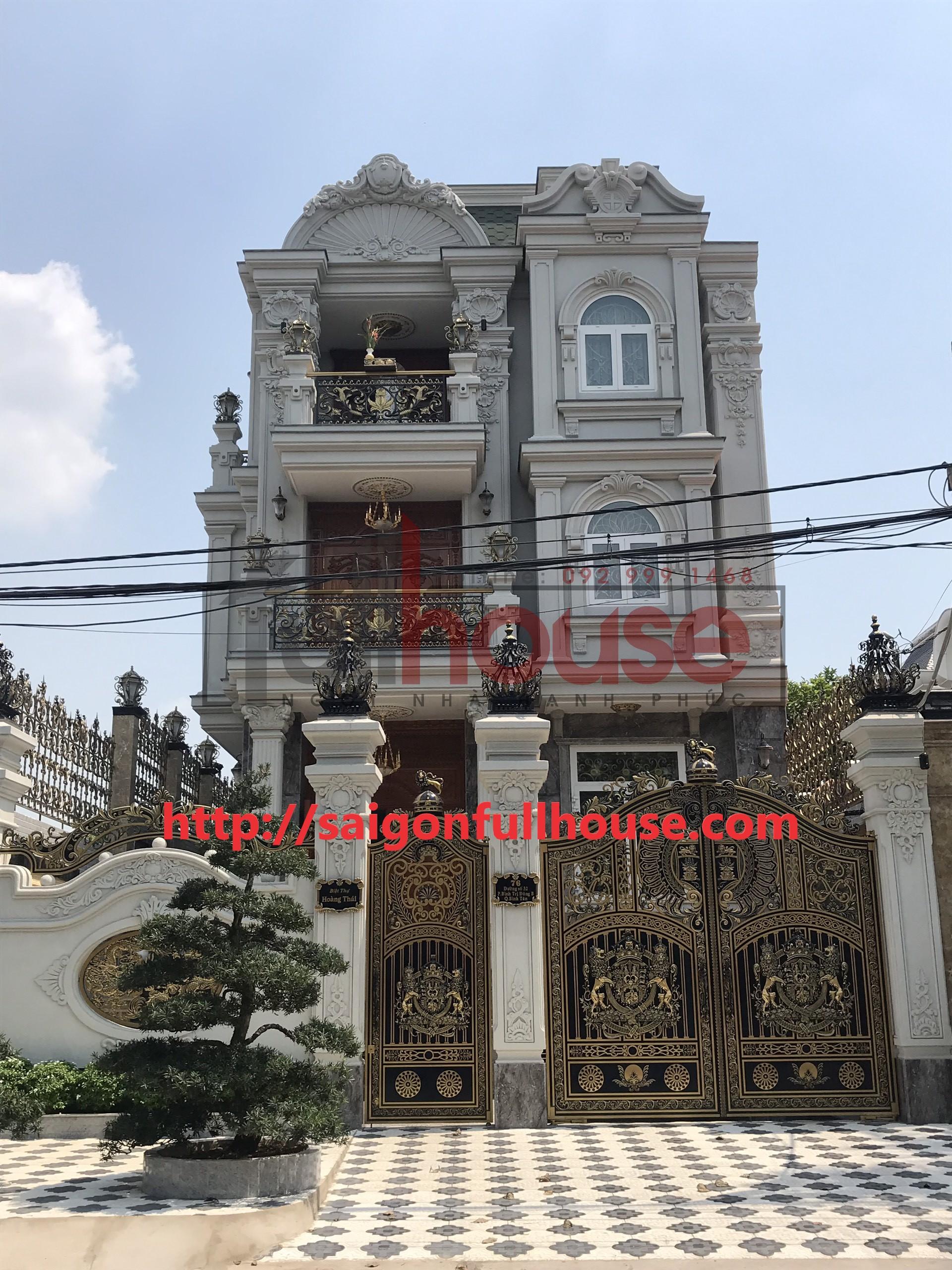 Công trình biệt thự 76 đường số 32 khu Tên Lửa_Bình Tân