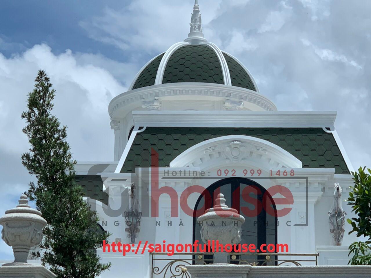 Công trình biệt thự huyện Cái Bè_Tiền Giang