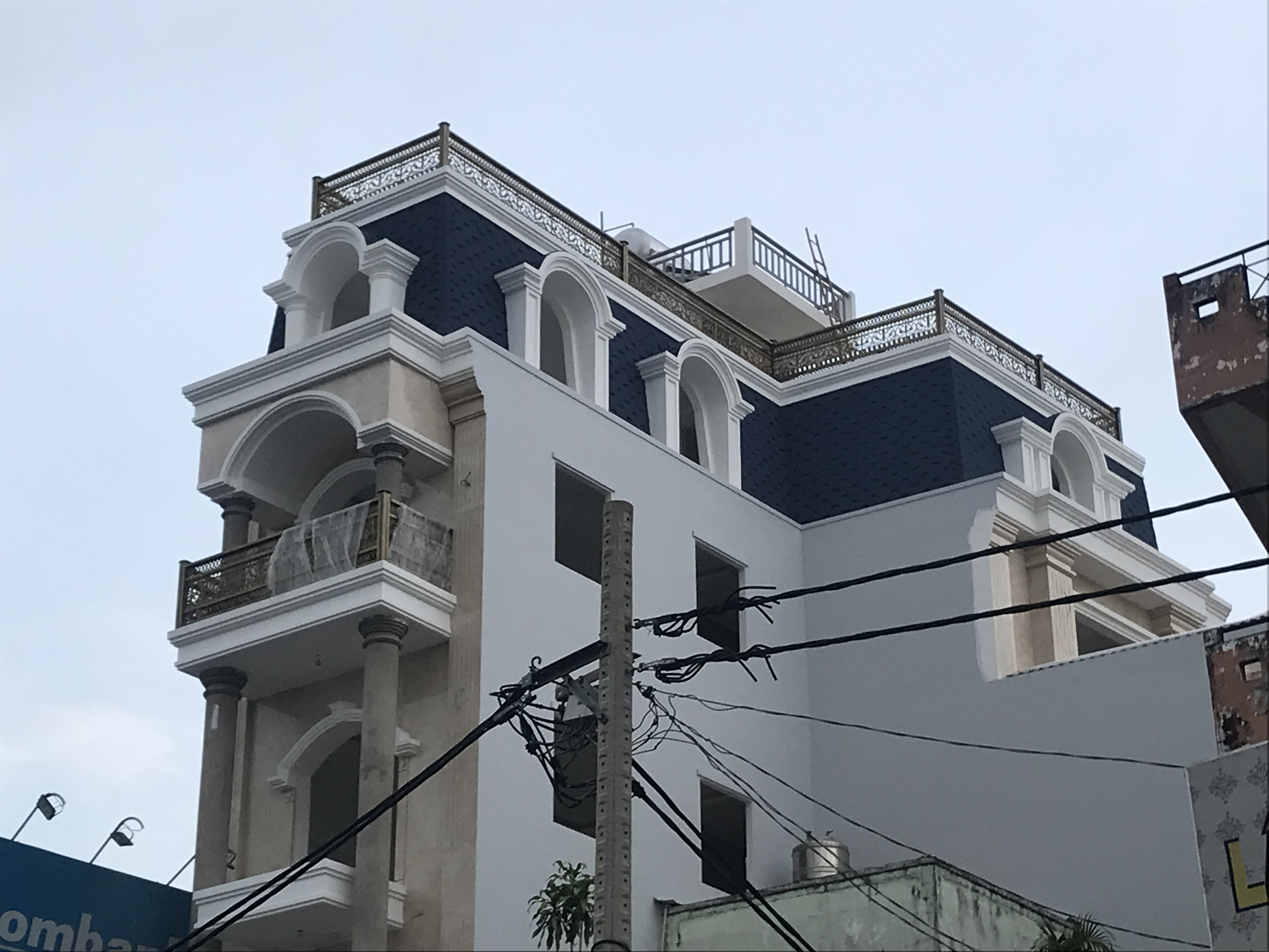 Công trình biệt thự đường Lạc Long Quân_quận 11