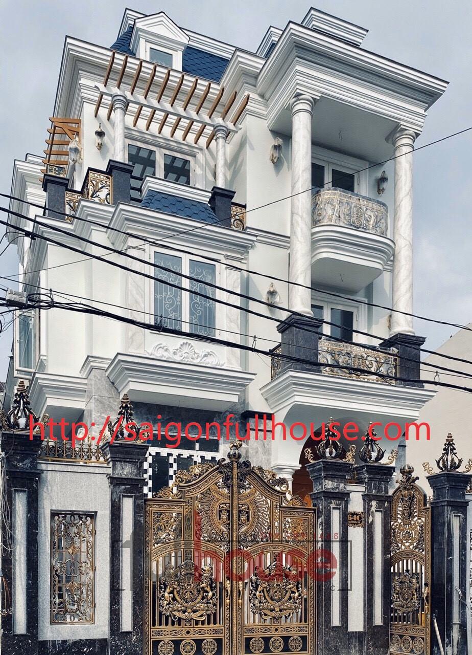 Công trình biệt thự đường số 5 khu Tên Lửa_Bình Tân